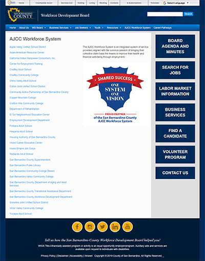 AJCC Workforce Sys